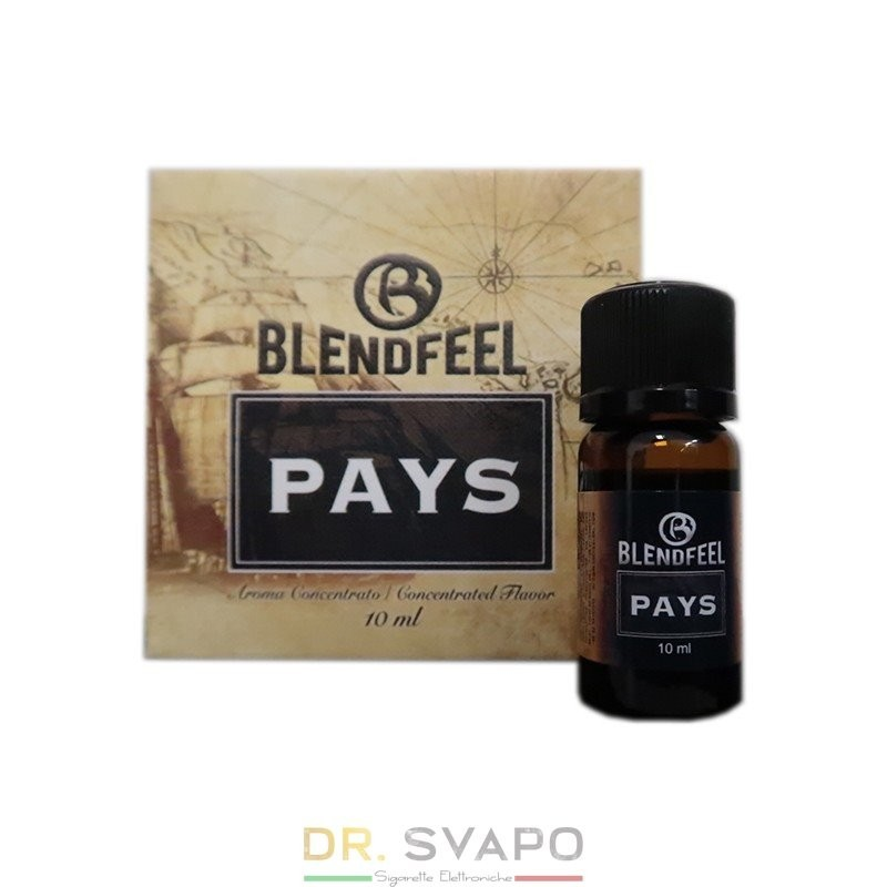 Pays - Aroma concentrato 10 ml - BlendFeel
