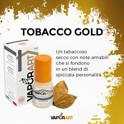 Tobacco Gold - Liquido Pronto TPD 10ml - VaporArt