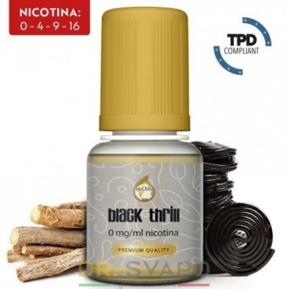 Black Thrill - DeOro 10ml - Liquido Pronto TPD