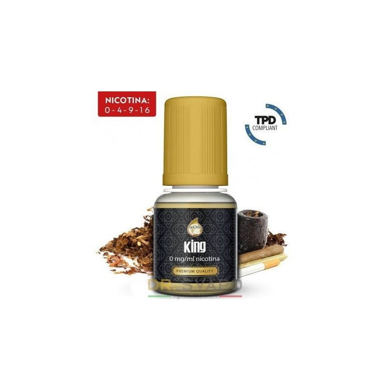 King - DeOro 10ml - Liquido Pronto TPD