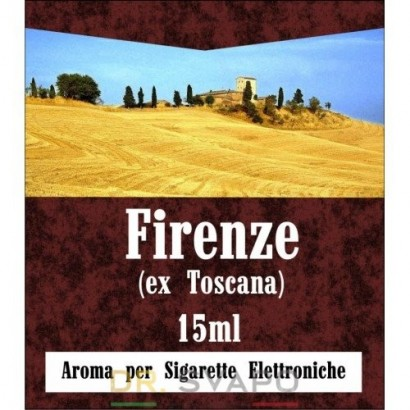 Firenze - Aroma Concentrato 15ml - BandZ Vape Super Core
