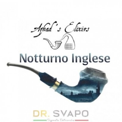 Notturno Inglese - Aroma naturale al tabacco 10 ml - Azhad's Elixirs