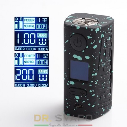 Rader Eco 200W - Hugo Vapor Battery Box MOD