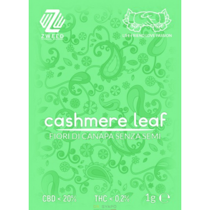 Zweed Cashmere Leaf 1gr