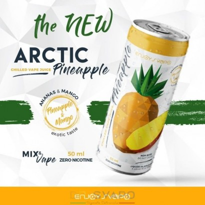 Artic Pineapple - Mix & Series 50ml - Enjoy Svapo LIMITED EDITION