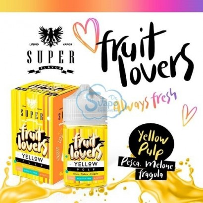 Yellow Pulp Fruit Lovers - Super Flavor Mix & Vape 50ml