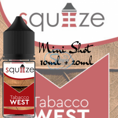 Tabacco West - Squeeze - Aroma 10 + 20 ml