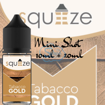 Tabacco Gold - Squeeze - Aroma 10 + 20 ml