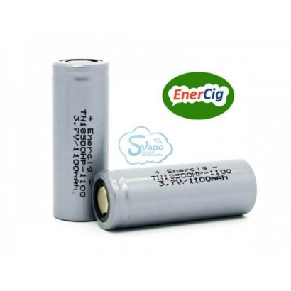 Enercig Rechargeable battery IMR 18500 1100mAh - 22A