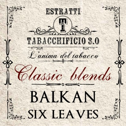 Aroma Balkan Six Leaves - Tabacchificio 3.0 Classic Blends