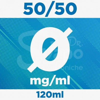 Kit Base Neutra nicotina 0mg 120ml - 50/50 PURE