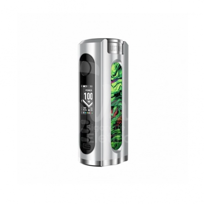 Grus Box Mod Battery 100W Resin & Walnut Edition - Lost Vape
