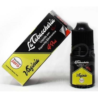 Virginia - Black Line 4POD - La Tabaccheria - Liquido 10ml