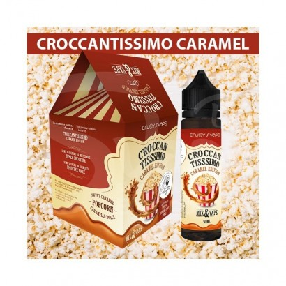 Croccantissimo Caramel LIMITED EDITION - 50ml Mix & Vape - Enjoy Svapo