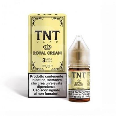 Pastry Royal Cream - TNT Vape Liquido Pronto TPD 10ml
