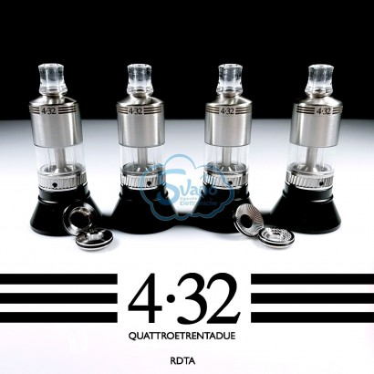 Atomiseur reconstructible 4.32 EVO - Angry Fox Vape