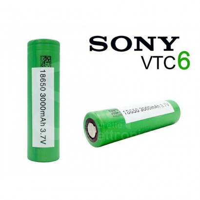 Sony 18650 VTC6 Rechargeable Battery - 3000mAh 30A