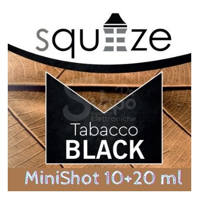 Aroma Tabacco Black - Squeeze 10ml