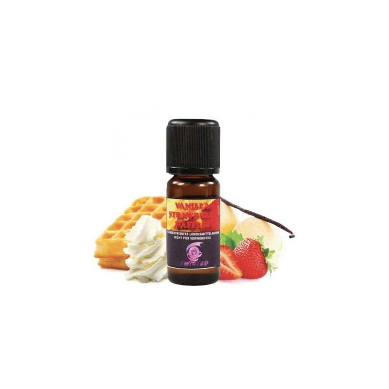 Vanilla Strawberry Waffle V2 - Twisted Aroma Concentrato 10ml