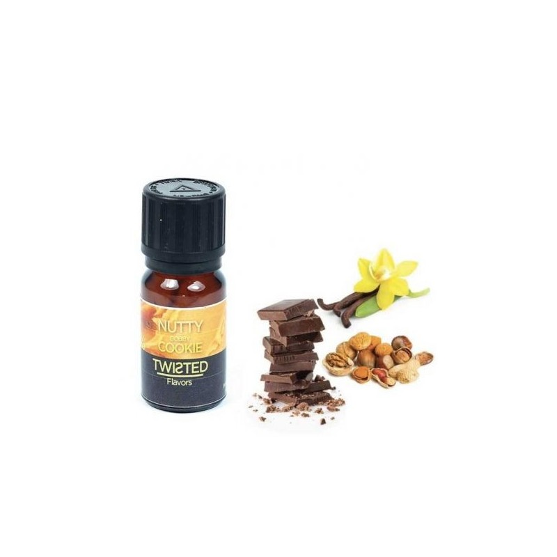 Nutty Bobbie Cookie - Twisted Aroma Concentrato 10ml