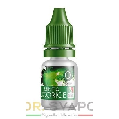 Mint & Licorice - Liquido pronto TPD 10 ml - Delixia