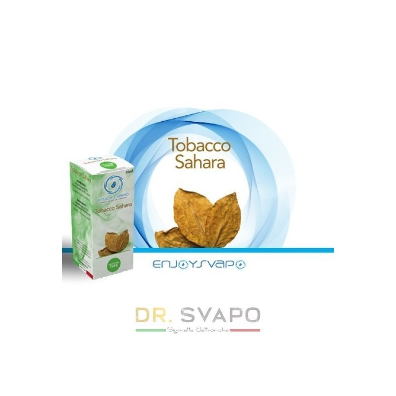 Tobacco Sahara - Liquido Pronto TPD 10ml - ENJOY SVAPO