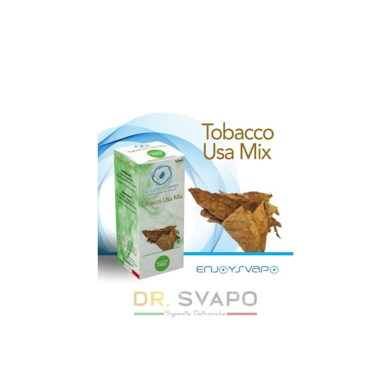 Tobacco USA Mix - Liquido Pronto TPD 10ml - ENJOY SVAPO