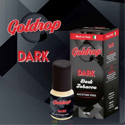 Dark Tobacco - Liquido Pronto TPD 10ml - Goldrop