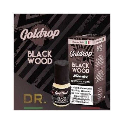 Black Wood - Liquido Pronto TPD 10ml - Goldrop