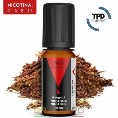 Red - Liquido Pronto TPD 10ml - Re-brand