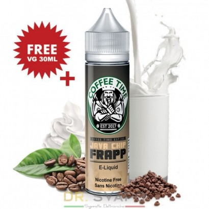 Java Chip - Liquido scomposto 20 + 30 ml - Coffee Time